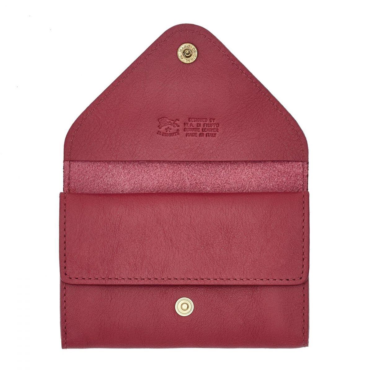 Porta Carte Uffizi in Pelle Di Vacchetta SCC039 colore Sumac | Details