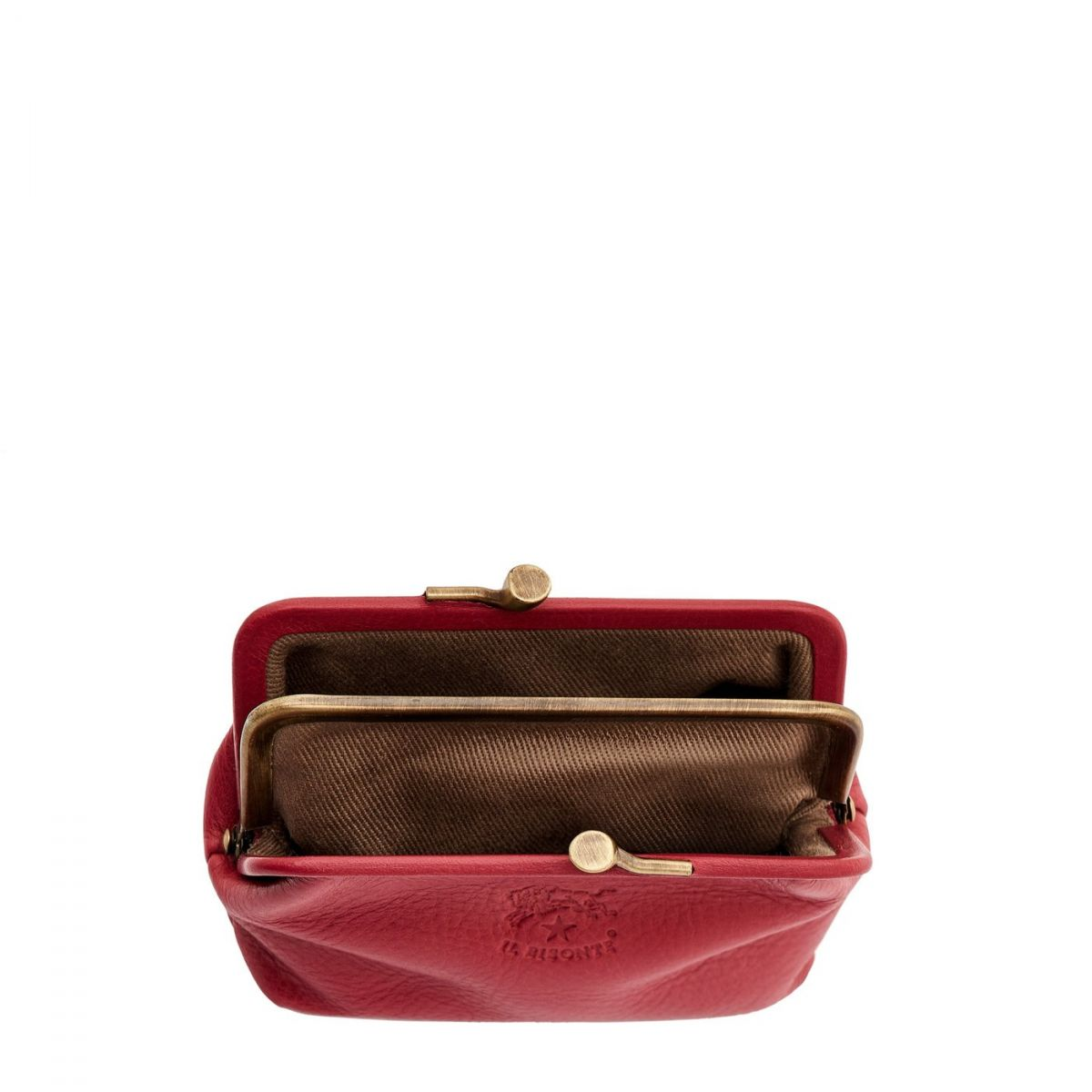 Women's Coin Purse  in Cowhide Leather SCP005 color Sumac | Details