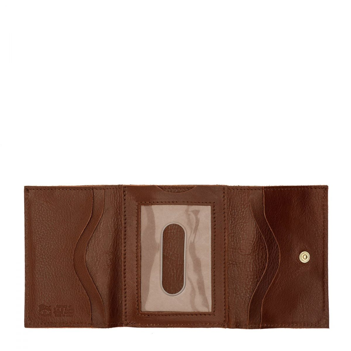 Wallet  in Cowhide Double Leather SMW036 color Brown | Details