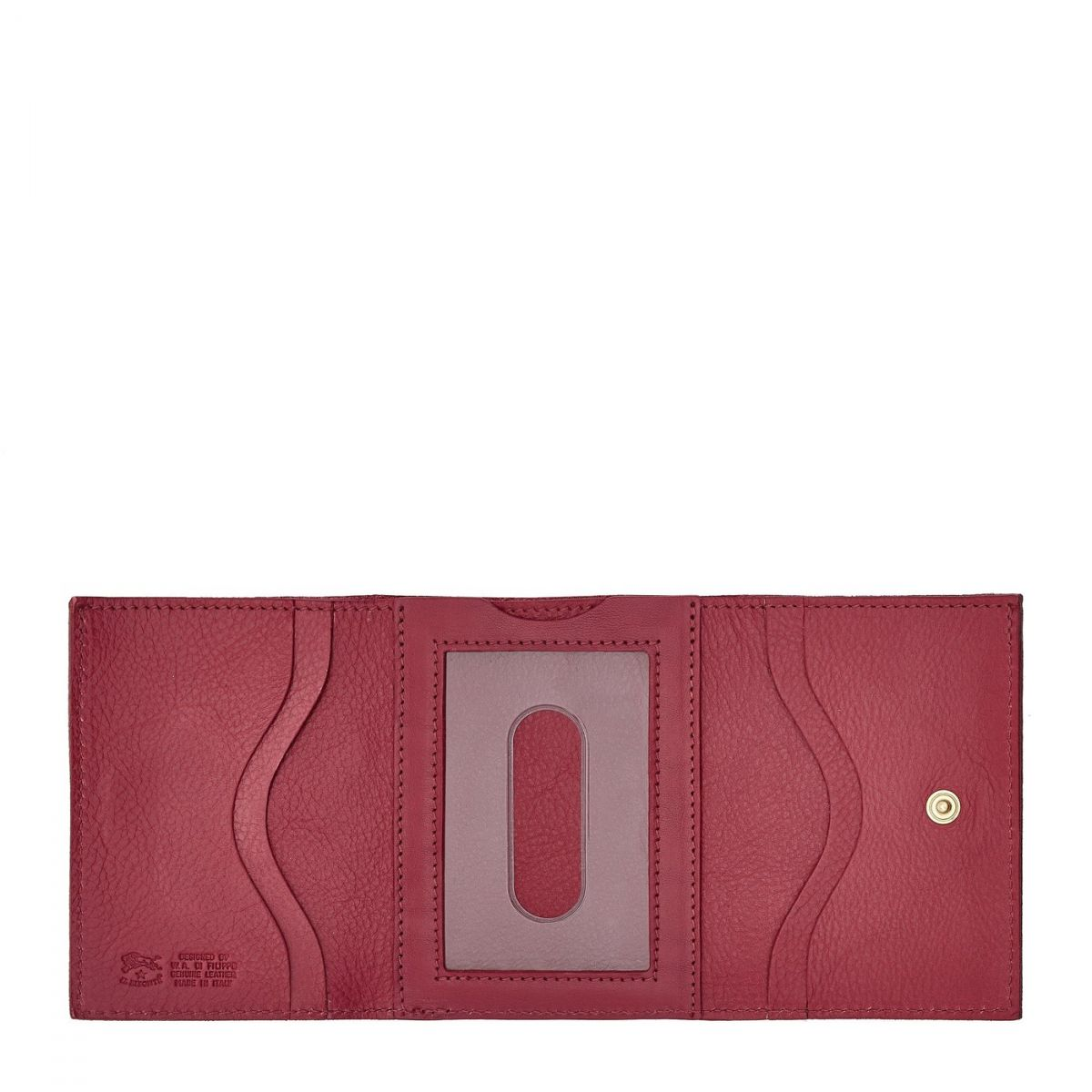 Wallet in Cowhide Leather SMW036 color Sumac | Details
