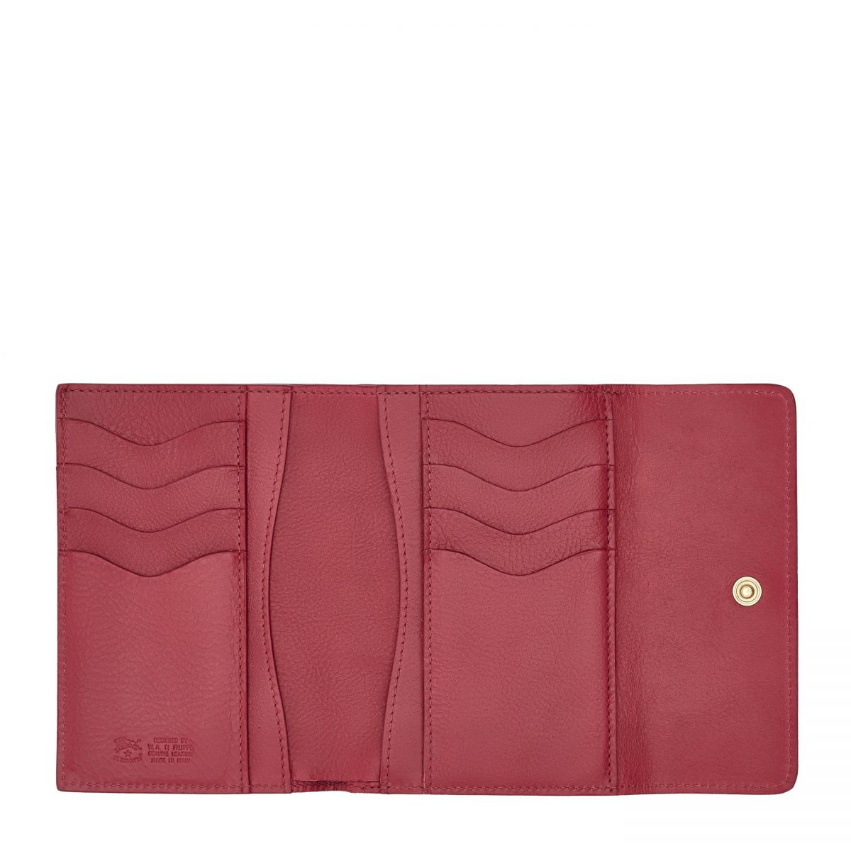 Wallet  in Cowhide Leather SMW040 color Sumac | Details