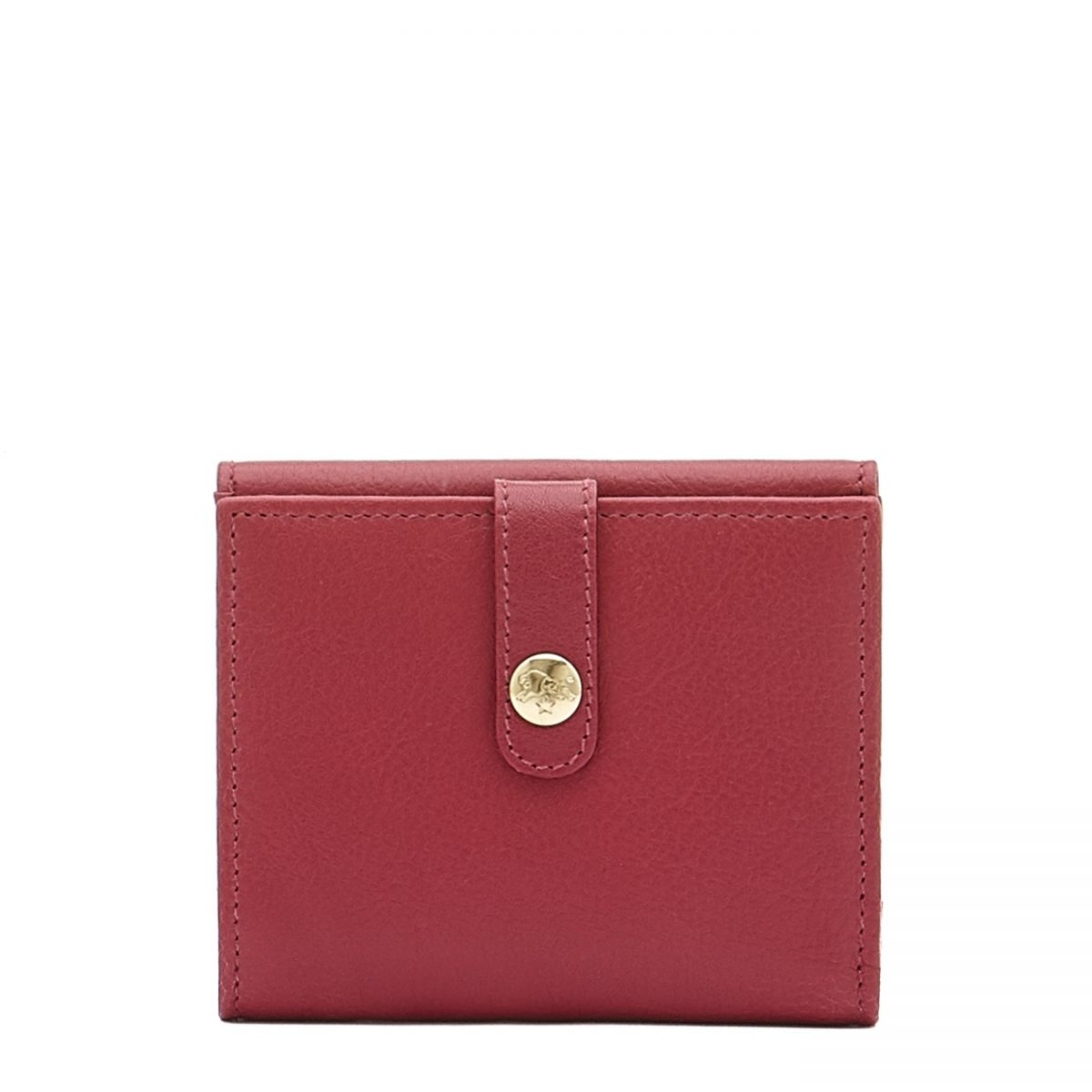 Women's Wallet  in Cowhide Leather SMW044 color Sumac   Details