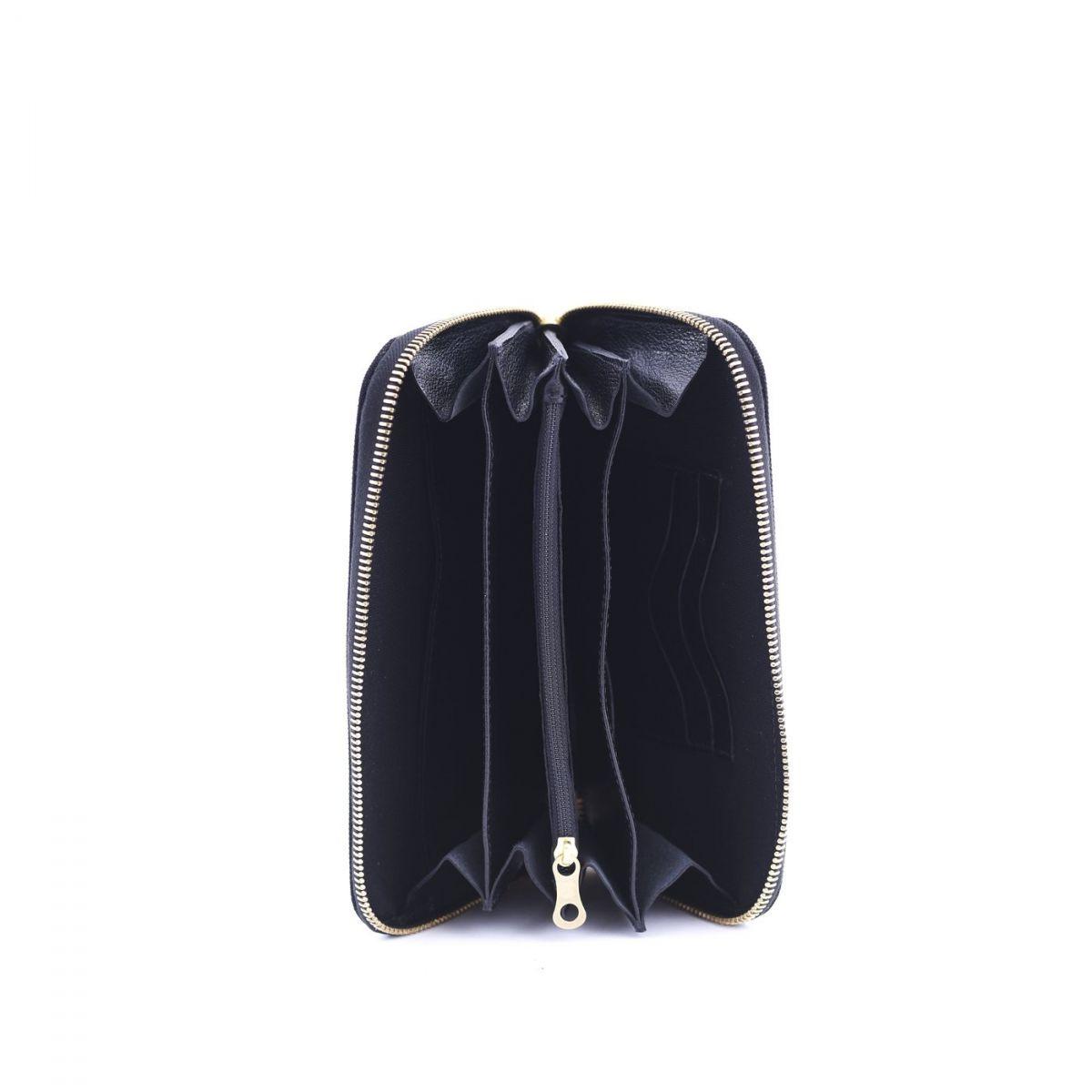 Wallet  in Nylon SMW086 color Black | Details