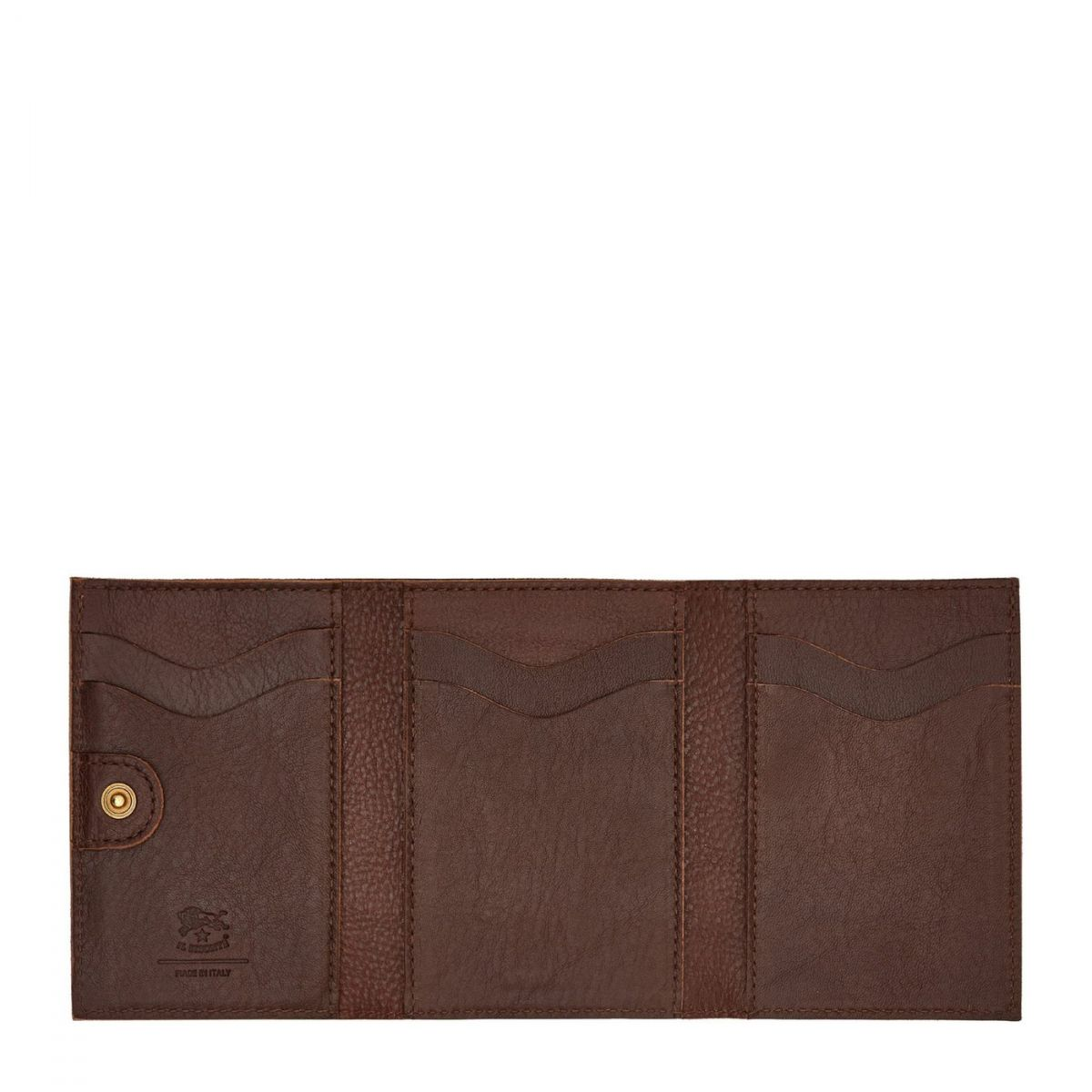 Women's Wallet  in Cowhide Leather SMW098 color Brown | Details