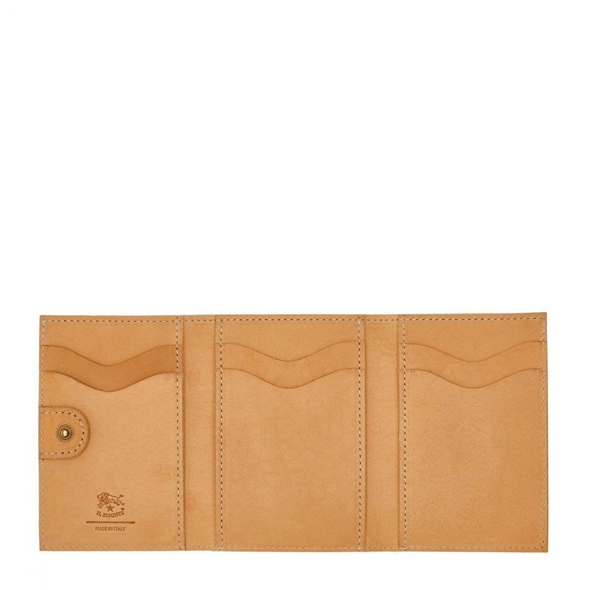 Women's Wallet  in Cowhide Leather SMW098 color Natural | Details