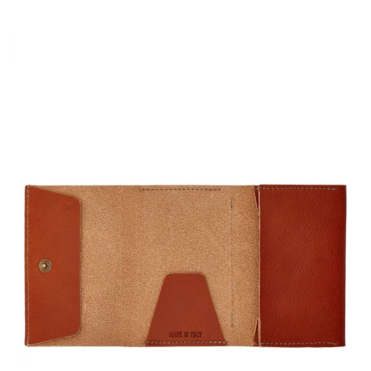Wallet  in Cowhide Leather SMW111 color Caramel | Details