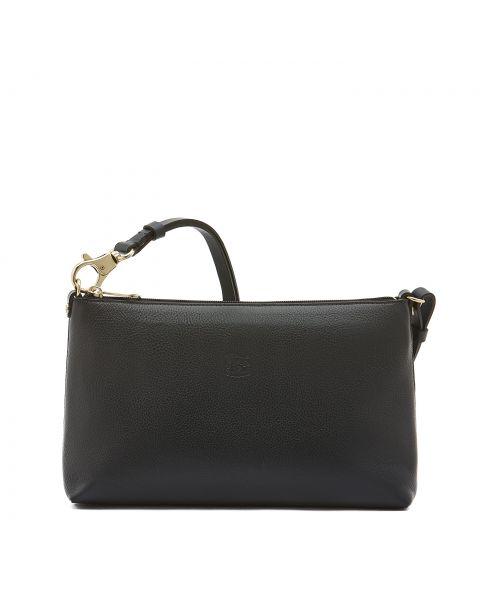 Women's Shoulder Bag in Cowhide Leather color Blue - Salina line BSH092