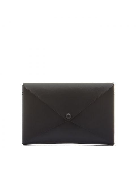 Titania - Borsa A Spalla da Donna in Pelle Di Vitello colore Nero - BSH137
