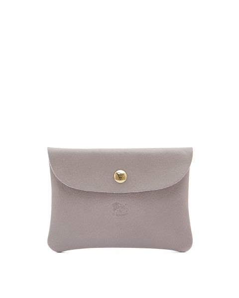 Case in Cowhide Leather color Mauve - SCA008
