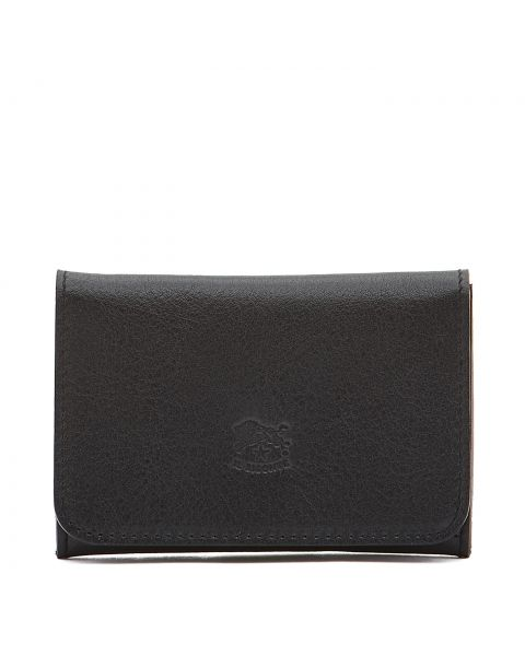 Card Case in Cowhide Double Leather color Blue - SCC004