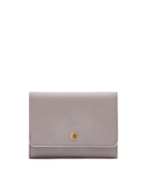 Alberese - Wallet in Cowhide Leather color Mauve - SMW028