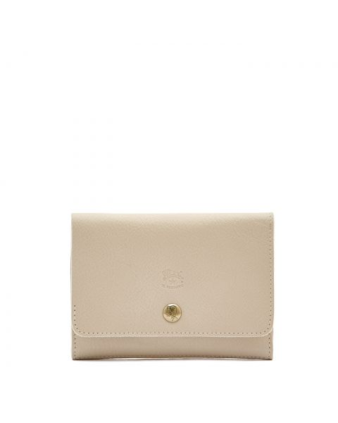 Alberese - Wallet in Cowhide Leather color Ivory - SMW028